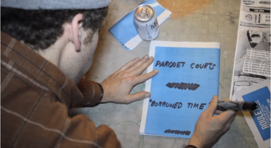 parquet courts borrow time